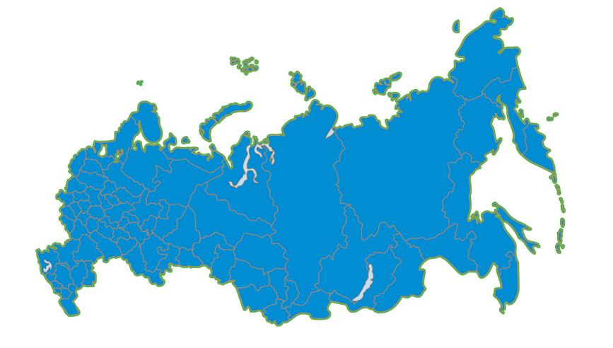 Реклама в регионах России: комплексное решение
